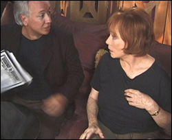 Rick McKay and Shirley MacLaine