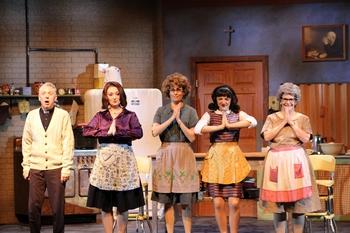 High Quality Tim Shawver, Carolyn McPhee, Kat Bailes, Ali Whitwell, And Barbara McBain.  Photo By Kat Barnes / Arizona Broadway Theatre
