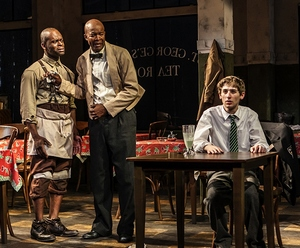"master harold and the boys climax Like hally's mother in ""master harold"" and the boys, athol fugard's mother, elizabeth, owned a general store, the st george tea room in port elizabeth, south africa in an interview after its publication, athol fugard acknowledged that ""master harold"" was written in part to atone for ."