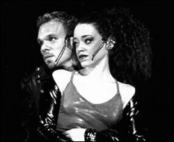 Norbert and Marcy Harriell in Rent